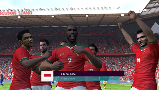 PES 2017 Indonesia National Team 2016 V1 untuk PTE Patch 3.1