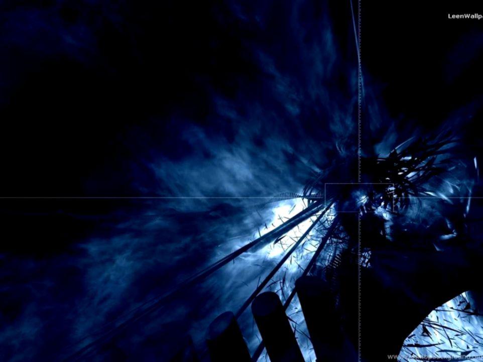 Dark Blue Abstract Wallpaper 1920x1080 Nice Wallpapers