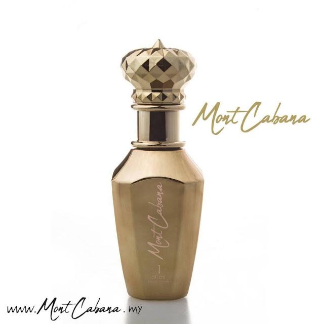 mont cabana parfum, minyak wangi tahan lama mont cabana, EDP mont cabana, minyak wangi sesuai untuk wanita,