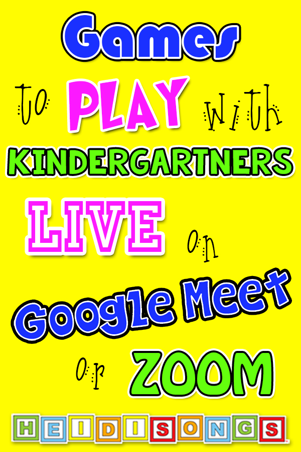 Games To Play With Kindergartners Live On Google Meet Or Zoom See more of preschool activities on facebook. kindergartners live on google meet or zoom