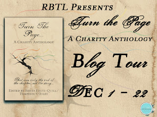 Blog Tour: Turn The Page -- A Charity Anthology