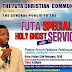 FUTA SPECIAL HOLY GHOST SERVICE