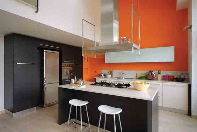warna ruangan dapur minimalis