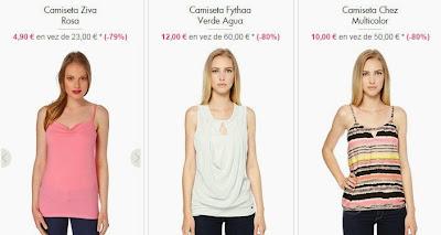 Otros modelos de camisetas de tirantes