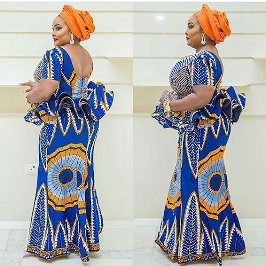 Best African Asoebi Fashion Designs for Skirt and Blouse