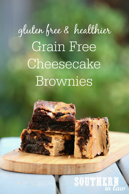 Easy Grain Free Cheesecake Brownies Recipe from Scratch - gluten free, grain free, clean eating recipe, healthy, sugar free, low fat dessert recipes