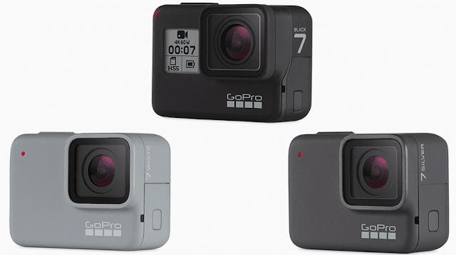 Harga dan Ulasan Kamera GoPro Hero 7 yang baru dirilis dengan 3 Varian