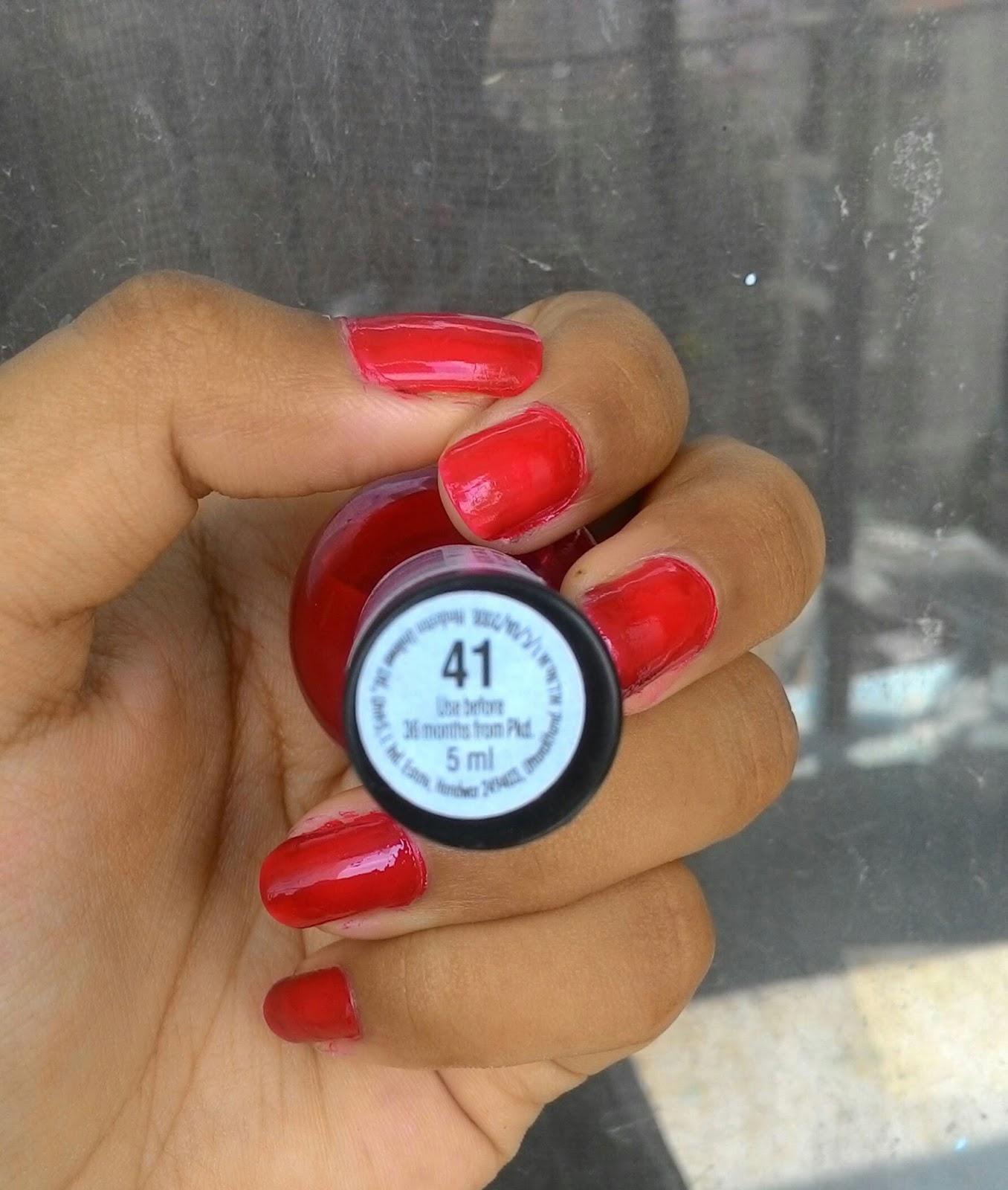 Elle 18 Nail Pops Shade 41 - Review | The Beautyholic | Beauty ...