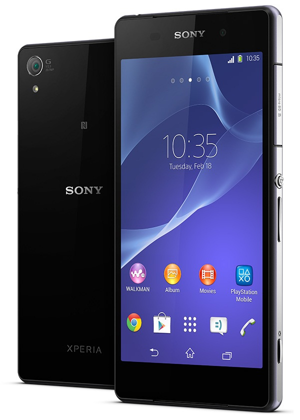 Sony Xperia Z2 with 5.2-inch Full HD display, Snapdragon ...