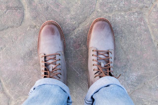 「敗家之路」Timberland 深褐色復古摔紋高筒靴 - 13
