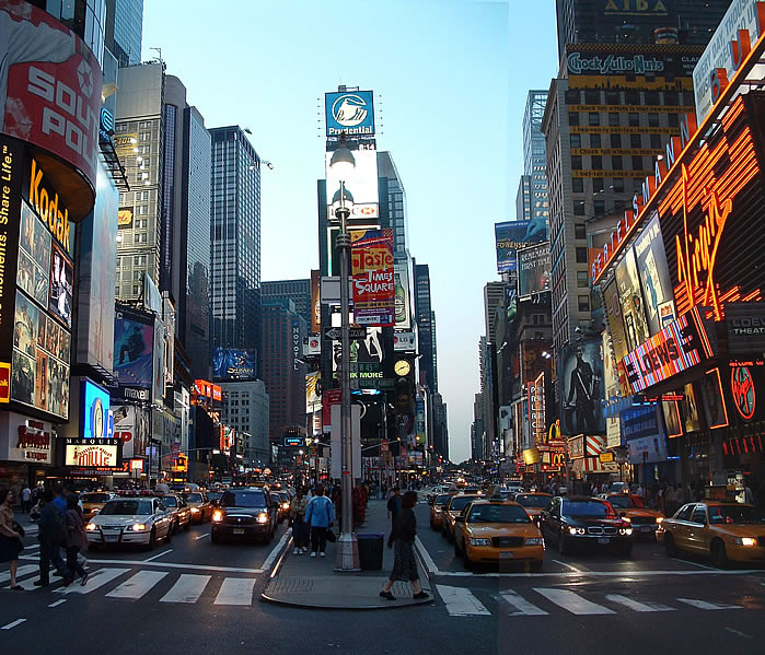 New York Most Visited Spot 2013