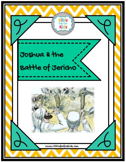 bible fun for kids 2 9 joshua the battle of jericho