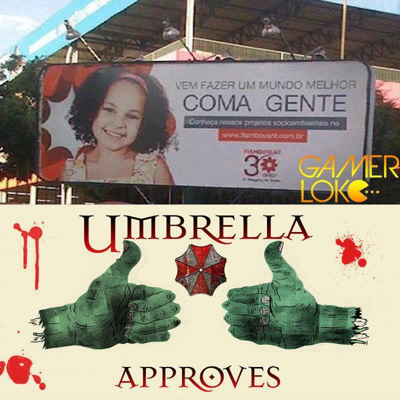 Restaurante aprovado pela Umbrella