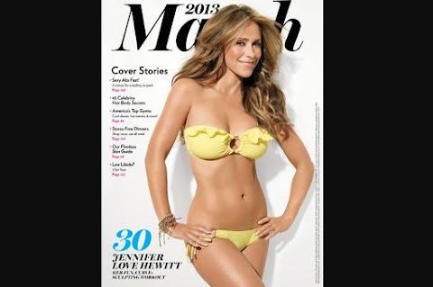 Jennifer Love Hewitt Luce Divina en Portada Revista Shape