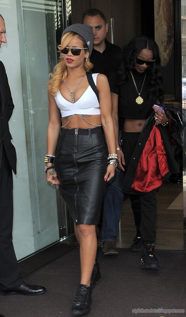 Street Style Rihanna Stylish Starlets