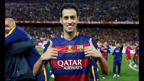Hình ảnh tiền vệ 26 tuổi của Barca