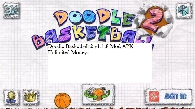 Doodle Basketball 2 v1.1.8 Mod APK Unlimited Money