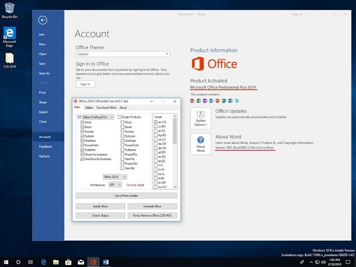 File ISO Microsoft Office 2019 Versi Trial Sudah Tersedia