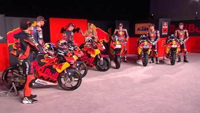 KTM Resmi Merilis Tim MotoGP, Moto2, Moto3