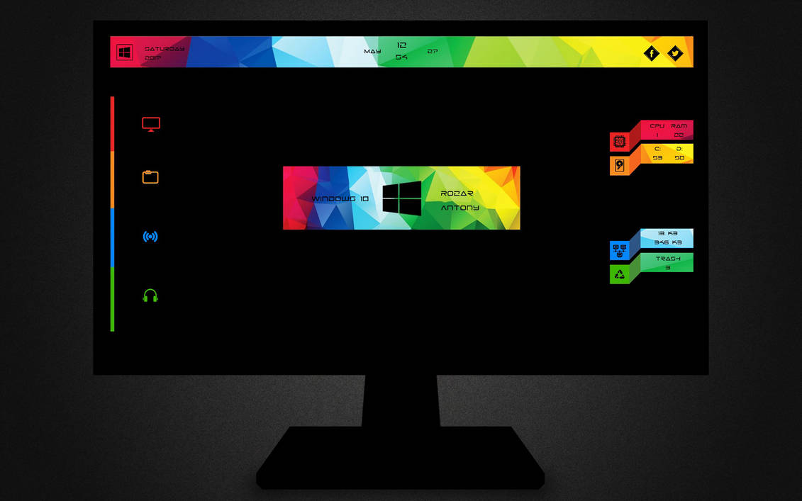How to customize a windows Desktop | Hacking Truth.in