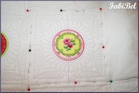 How to quilt using an embroidery design
