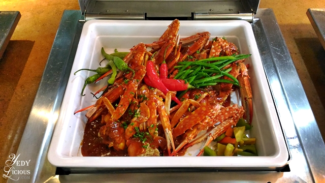 Chili Crab Brunch Buffet at Spectrum Fairmont Hotel Makati Manila PH
