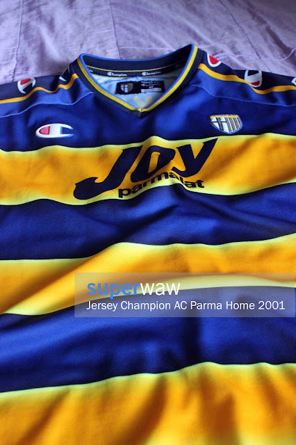 Jersey AC Parma Home 2001