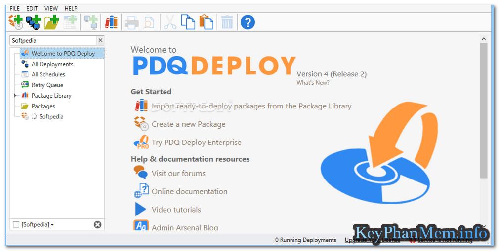 Download PDQ Deploy 16.1 Enterprise Full Key, Phần mềm triển khai và công cụ quản trị hệ thống