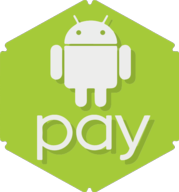 android pay hexagon icon