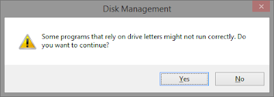Cara Mengganti Drive Letter di Windows