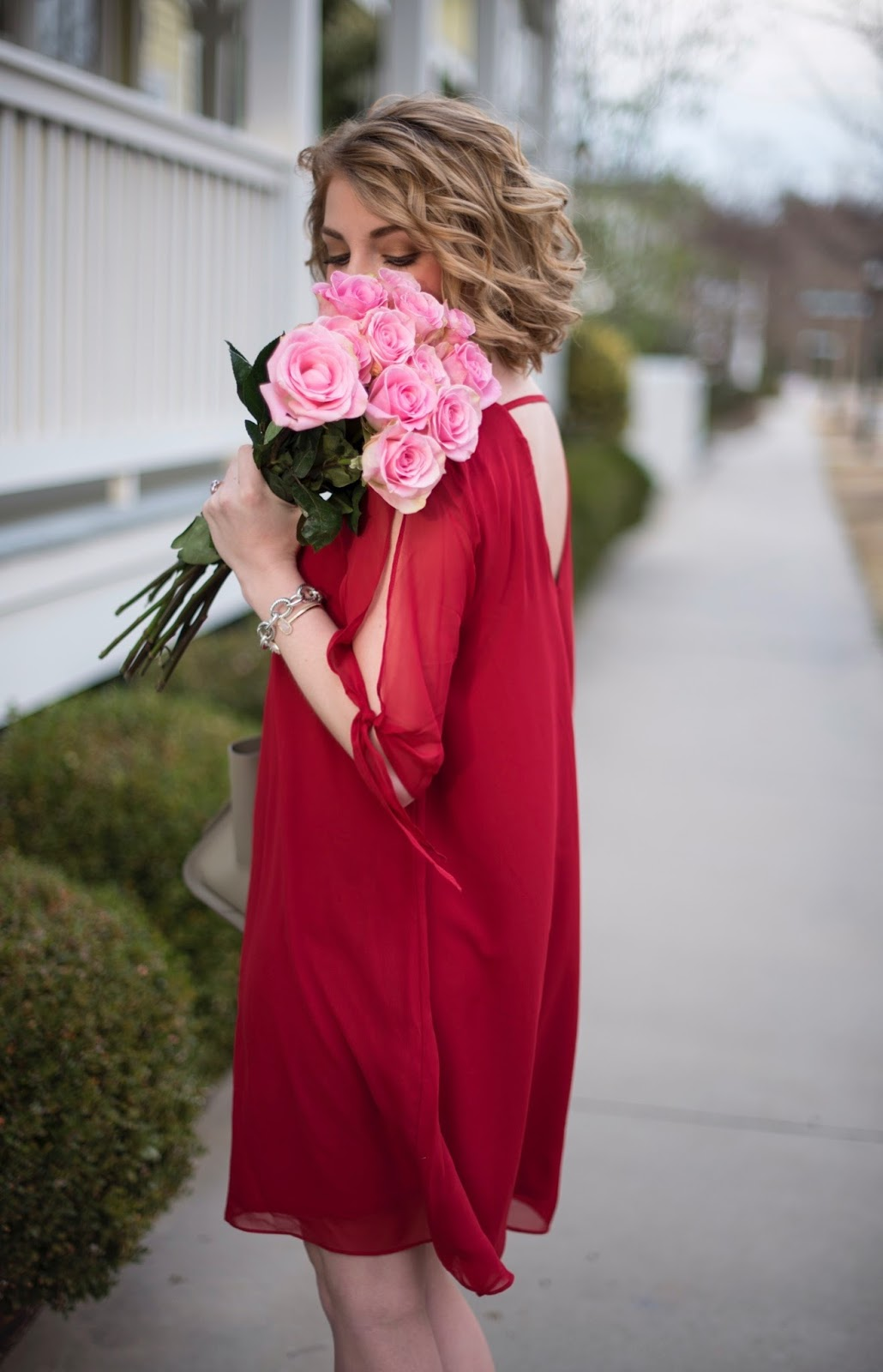 Valentine's Day Outfit - Something Delightful Blog