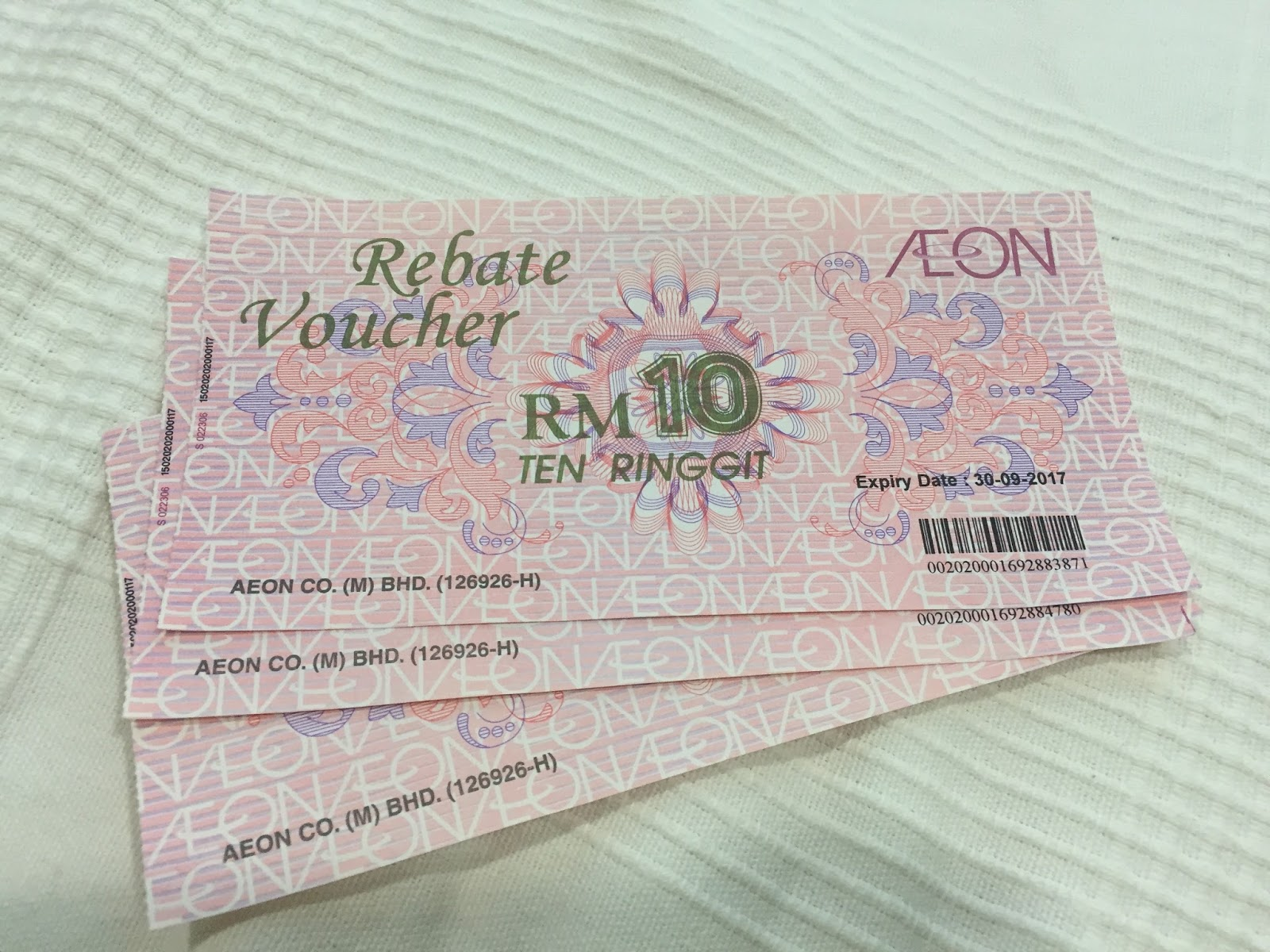 Rebate Voucher AEON