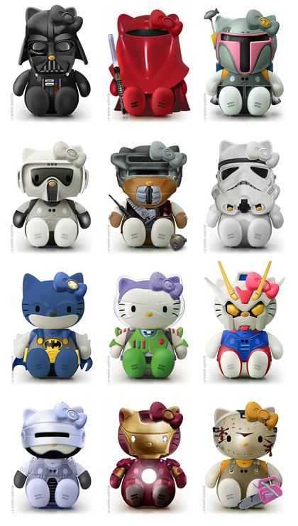 Hello Kitty colección de figuras de acción
