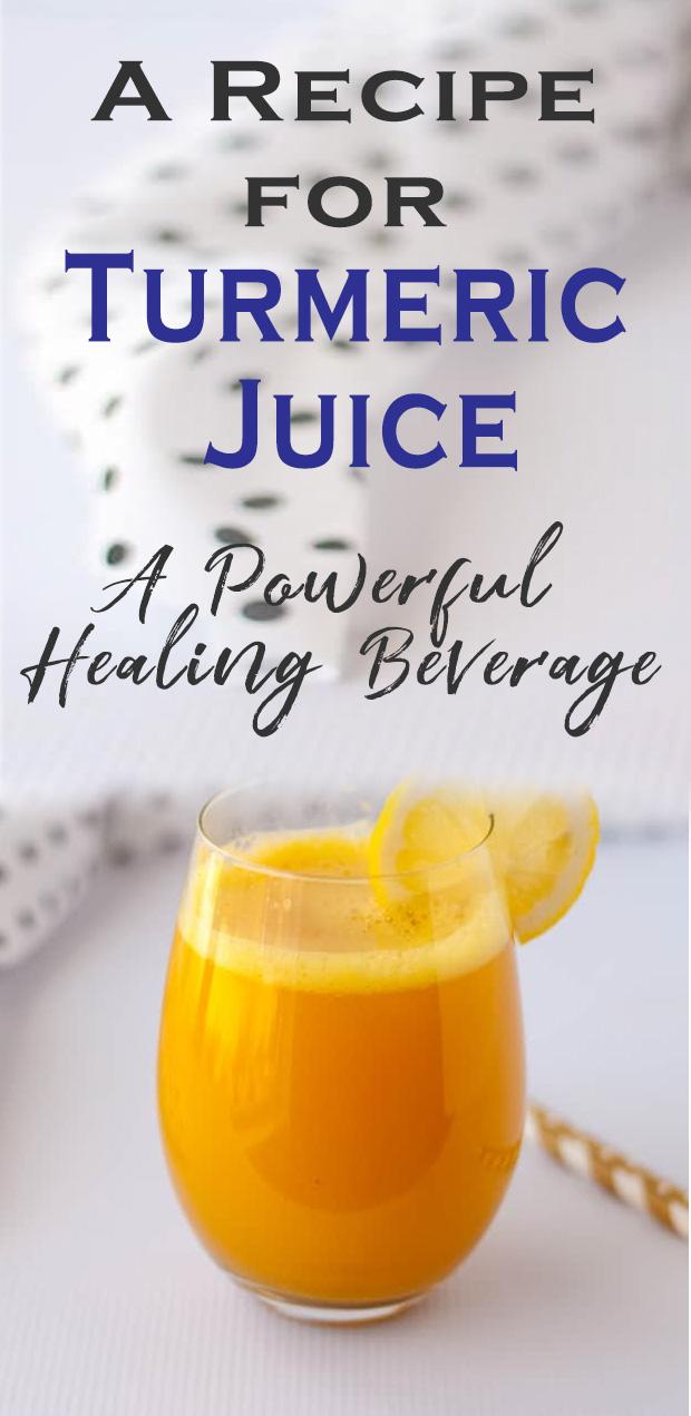 benefits for turmeric juice