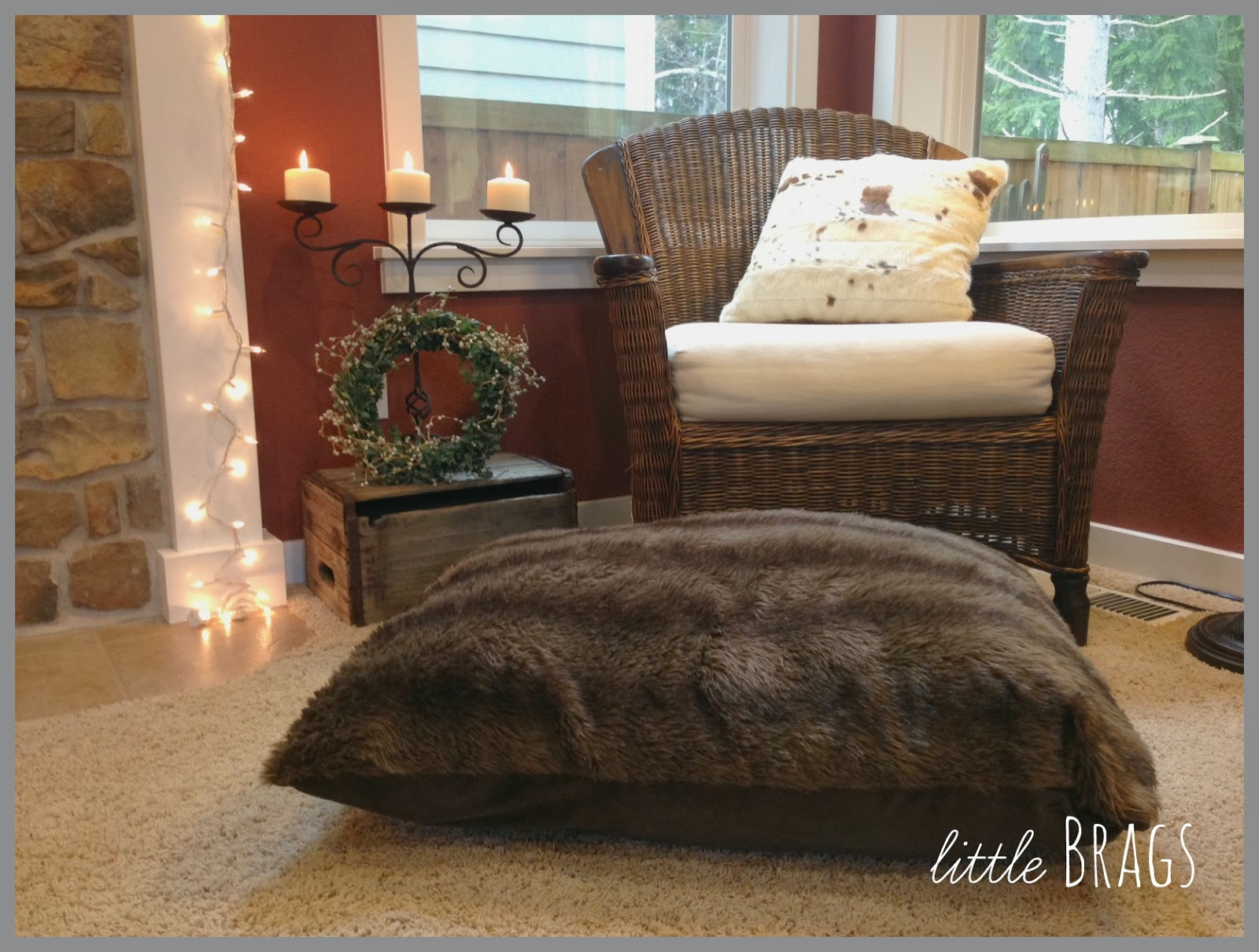 Little Brags: My Newest Crush -- Furs and Cowhides