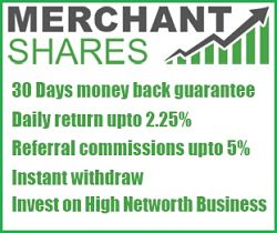 заработок на инвестициях - Merchant Shares