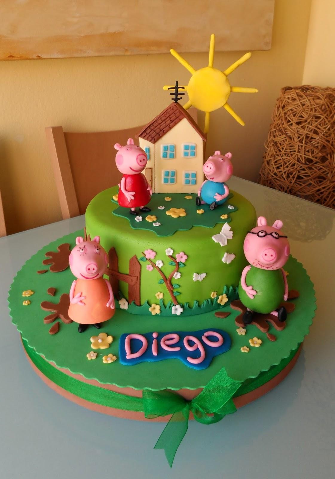 Tartas De Sande: TARTA PEPPA PIG & FAMILY