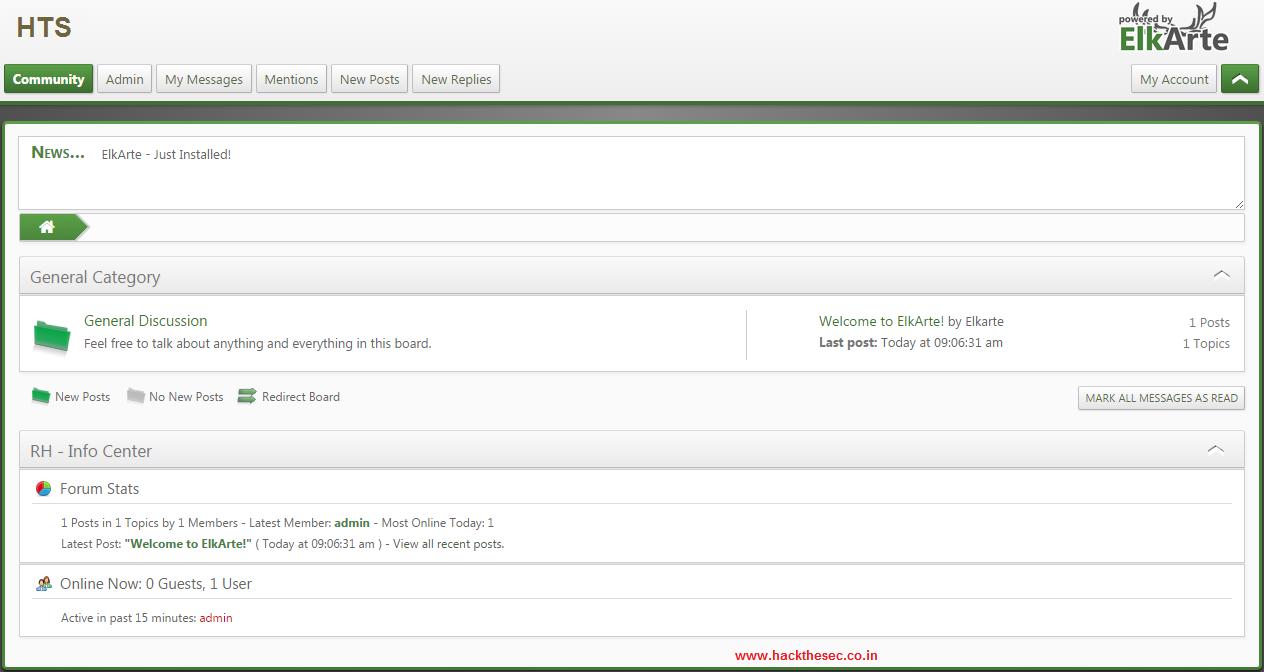 How to install Elkarte Community Forum on Ubuntu 14.04 ...