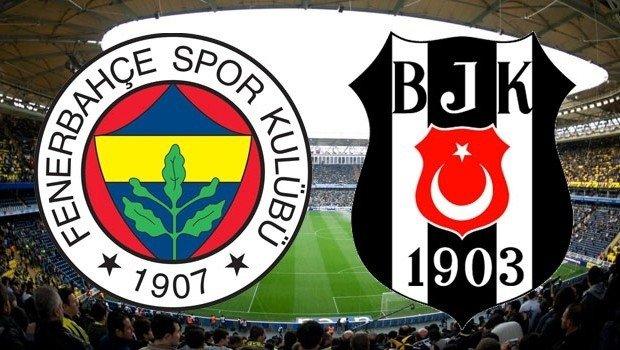 23 Eylül 2017 Fenerbahçe - Beşiktaş Maçı Şifresiz Veren Kanallar Canlı İzle