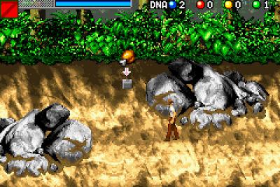 【GBA】侏儸紀公園3:DNA基因繁體中文版,Jurassic Park III: DNA Factor!