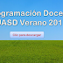 Programación Docente UASD Verano 2017