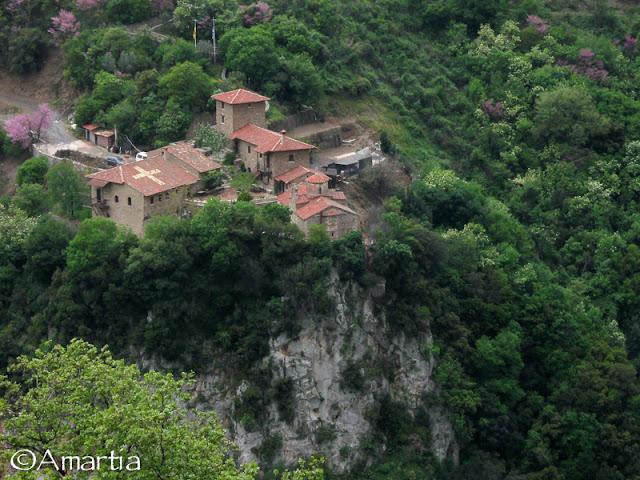 Arcadie, Moni Prodromou, Gorges du Loussios