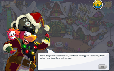 Club Penguin Holiday Party 2016 Cheats