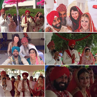 Interfaith Sikh Wedding, Multiracial Sikh Wedding, Sikh Wedding Canada, Sikh Mixed marriage