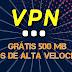 VPN Grátis 500Mb Dados de  alta velocidade