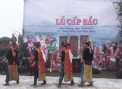 Đến Sapa dự khán lễ hội Cấp Sắc người Dao đỏ