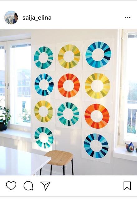 Desde Chicago, Suzy nos muestra en su cuenta de Instagram las colchas que realiza a mano y los patrones que crea. Su estilo es minimalista (y también colorido en ocasiones) y tiene muy buenas fotografías. Este perfil puede ayudarte a encontrar nuevas ideas tanto de diseños como de nuevos usos que puedes dar a una pieza de patchwork para decorar tu casa, oficina o lo que quieras.