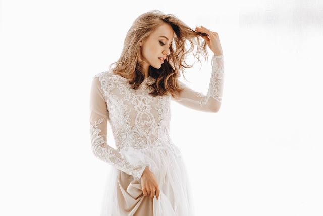Przepiękna suknae ślubna z Joanna Niemiec Atelier.