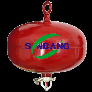 Bình cầu chữa cháy tự động dùng bột ABC 8kg