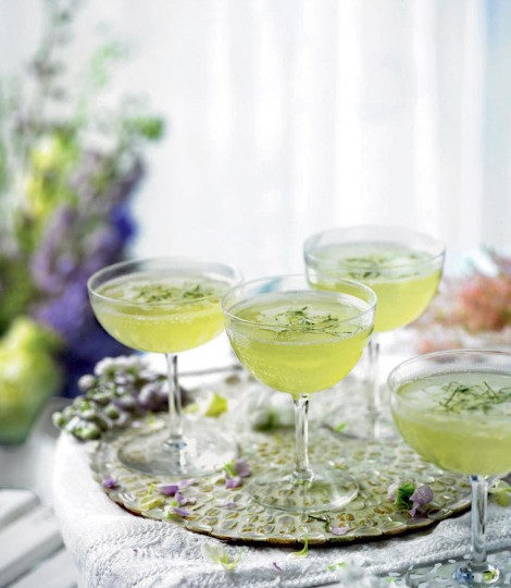 http://www.deliciousmagazine.co.uk/recipes/cucumber-mint-and-elderflower-champagne-cocktail/